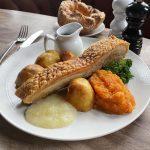 Roasted Dingley Dell pork belly