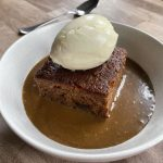 Sticky toffee pudding, toffee sauce