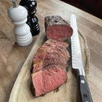 Slow roasted Black Angus Sirloin (550g)