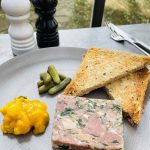 Smoked ham hock & chicken terrine, piccalilli, cornichons, wholemeal toast